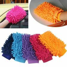 3X Car Wash Washing Microfiber Chenille Mitt Auto Cleaning Glove Dust Washer