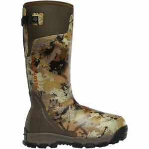 "Lacrosse Men's 376037 Alphaburly Pro 18"" Optifade Marsh 1600G Hunting Boots 10"