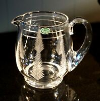 Beautiful Stuart Crystal Woodchester Pitcher