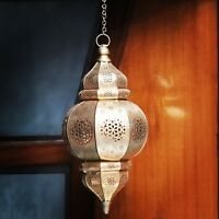 Antique Morocan Electric Lamp Hanging Ceiling Vintage Home Decorative