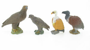 4x Schleich Greifvögel - 16701 14134 16704 16706 Adler Geier Mäusebussard Vögel