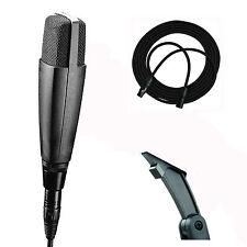 Sennheiser MD421-II MD421 II Dynamic Cardioid Microphone +30' Neutrik XLR Cable