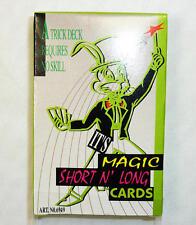 Long And Short Playing Cards Magic Trick Magician Novelty Gift Secret Santa