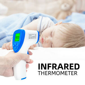 Infrared Non Contact Forehead Thermometer with Fever Alarm for Baby and Adult