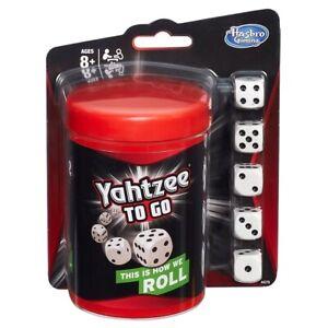 Hasbro Gaming Yahtzee To Go On The Go Travel Yahtzee Game New Fast Shipping