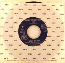 Roger Daltrey The Who Leon Promo USA 45 With Out  Picture Sleeve