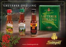 Lauterer Drilling Kräuterlikör Lautergold