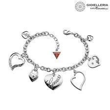 Bracciale Guess bijoux con cuore in acciaio da donna ubb11323 € 69