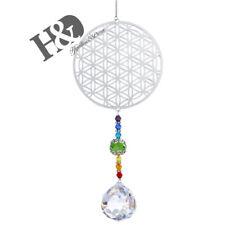 Crystal Suncatcher Clear Ball Prism Hanging Pendant Rainbow Maker Decor Gift