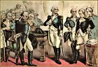Currier & Ives: Washington's Farewell to The Officers of His Army Art Print
