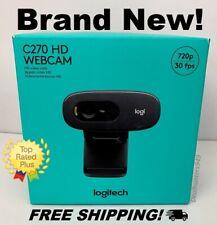 NEW! Logitech c270 HD 720P Webcam 30FPS - Free Shipping!