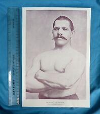 Original 1894 Antique print Portrait Gallery of pugilistes Mervine Thompson Boxer