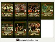 2001 Teamcoach Trading Cards Gold Prize Team Set Richmond (7) -Rare