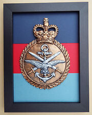 Large Scale Framed TRI SERVICES INSIGNIA Badge Plaque