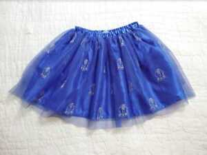 GIRL'S 6-7 120 HANNA ANDERSSSON STAR WARS R2D2 TULLE SKIRT