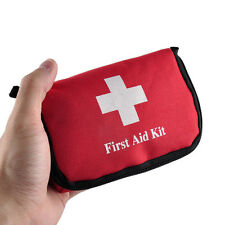 11 Piece First Aid Kit Emergency Medical Bag Home Car Outdoor Hiking Survival US