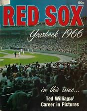 1966 Boston Red Sox Yearbook - Near Mint