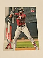 2020 Topps Baseball UK Edition Base Card - Starling Marte - Arizona Diamondbacks