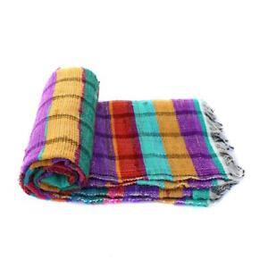 Indian High Quality Hand Woven Chindi Rag Rug Handmade Floor Carpet Aztec Mat