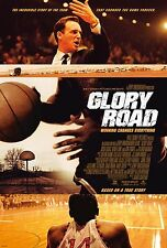 Glory Road Original D/S Rolled Movie Poster 27 x 40 Josh Lucas Basketball Voight