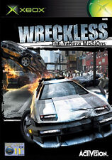 ~* WRECKLESS: THE YAKUZA MISSIONS PLATINUM HITS ~ ORIGINAL XBOX GAME COMPLETE *~