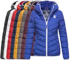Navahoo Damen Winter Jacke Steppjacke FVS3 Outdoor Parka Felljacke ELVA FELL