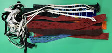 Brine Lacrosse Hard Mesh Various Colors New Huge Lot of 18 Plus Strings Unused
