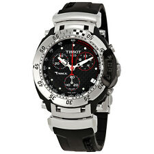 Tissot T-Race Chronograph Black Dial Mens Watch T027.417.17.201.06