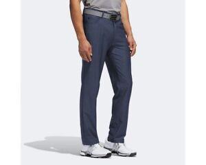 NEW! Adidas Ultimate365 Heather 5-Pocket Golf Pants- Navy- Size 42/32