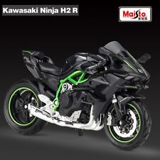 Kawasaki Ninja H2 R 1:18 Scale Motorcycle Collection Model Maisto Kids Gift