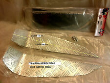pedane POGGIAPIEDI in alluminio MBK-YAMAHA nitro-aerox 50cc -  100cc