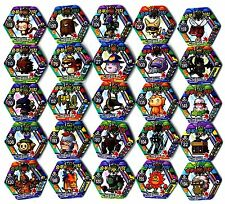 POGS - V-MS-HEX 25 002 Lot de 25 Pogs MAPLESTORY MAPLE STORY HEXAGONAUX Neufs