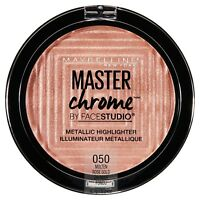 MAYBELLINE Master Chrome Metallic Highlighter MOLTEN ROSE GOLD 050