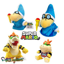 Super Mario Bros. Bowser Koopa Magikoopa Kamek Plush Doll Xmas Gift 4PCS