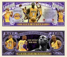 Pack Of 50 - Kobe Bryant 1 Million Novelty Dollar Bill Money Note