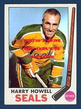 Custom made Topps 1969-70 Oakland Seals Harry Howell  hockey card