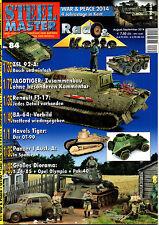 STEELMASTER  84 : u. a. Jagdtiger  Panzer 1  Dioramenbau