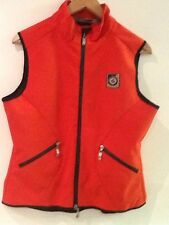 RTS Sportline Equi-sports Red M Medium 38/40 Full Zip Mesh Lined RIDING VEST