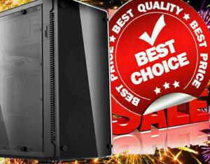 AMD Quad Core 16GB DDR4 SSD DVDRW Gaming Desktop Computer PC Play Fortnite 80FPS