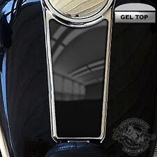 Fuel Tank Console Insert Dash Skin - 3D Domed 99 - 07 Touring - VIVID BLACK