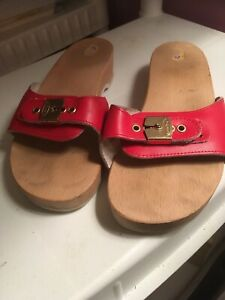 Vintage Dr Scholl Exercise Sandals Sz 8 Italy
