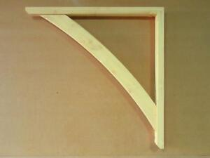 Gallows Bracket Timber Wooden Curved Brace Canopy Mortice & Tenon Jointed