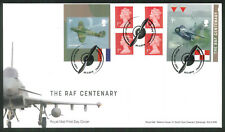 2018 The RAF Centenary FDC - Retail Book  F D I Cranwell  - Sent Post Free