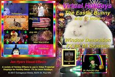 All Seasons DecorationDVD, Easter Bunny, St. Patricks, July 4th, by Jon Hyers