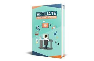 Affiliate Marketing Secrets ebook FEEDBACK 100%