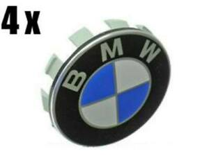 BMW e36 e38 e39 e46 e53 e60 Wheel Center Caps (x4) hub emblem roundel cover