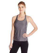 New Speedo Fit Swimsuit Bikini Tankini Top Sz 10 Heather Grey Sport Top