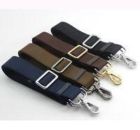 HIGH QUALITY Replacement Shoulder Canvas Adjustable Strap Messenger Bag Leather