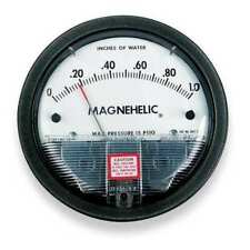 Dwyer Instruments 2010 Dwyer Magnehelic Pressure Gauge,0 To 10 In H2o