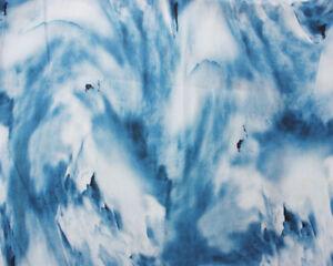 Tie Dye cloud Viscose dressmaking fabric 140cm wide rayon beautiful drape bright
